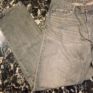 Men's Banana Republic gray jeans. 34x34.  EUC